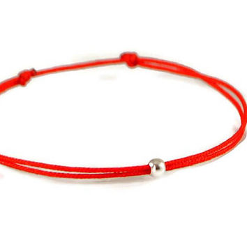 Red String Bracelet. Friendship Bracelet. Kabbalah Bracelet. Yoga Jewelry. Wish Bracelet. Evil Eye Bracelet. Girlfriend Gift. Boyfriend Gift