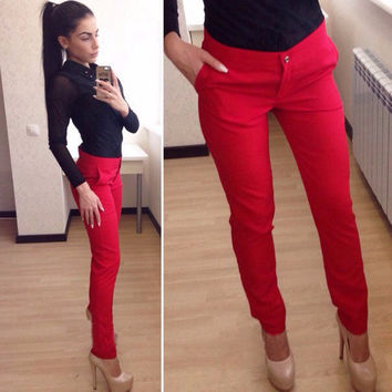 Ladies Casual Hot Sale Pants [9328087300]