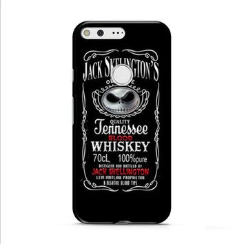 Jack Skellington Whiskey Daniels Google Pixel XL 2 Case