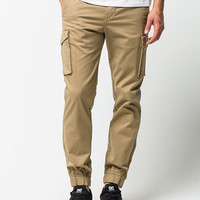 Levi's Banded Cargo Mens Jogger Pants Tan  In Sizes