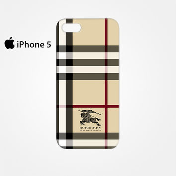 Burberry for Iphone 4/4S Iphone 5/5S/5C Iphone 6/6S/6S Plus/6 Plus 3D Phone case