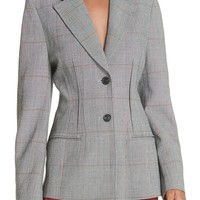 3.1 Phillip Lim Checkered Wool Blend Blazer | Nordstrom