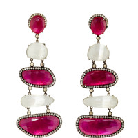 One Of A Kind Manju Earrings