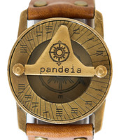 Pandeia Sundial Watch Whiskey