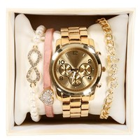 SALE-Gold Love Watch Set