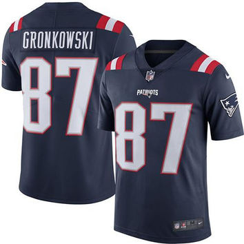 New England Patriots #87 Rob Gronkowsk Jerseys - Home, Away & Limited Editions
