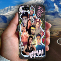 Magcon Boys,Taylor Caniff Collage - Print on hard plastic case for iPhone case. Select an option