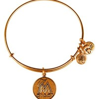 Women's Alex and Ani 'Miami Marlins' Expandable Charm Bangle