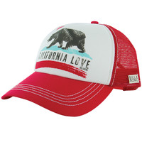 Billabong - Pitstop Trucker Hat / Bikini Red