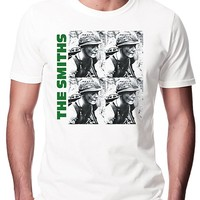 The Smiths Meat Is Murder Unisex Fashion Quality Heavyweight T-Shirt.