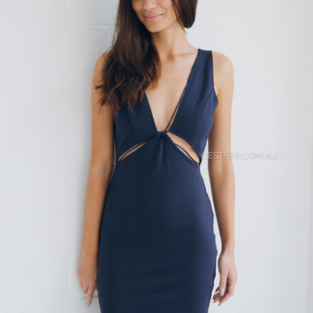 danny dress - navy