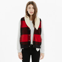 Woolrich Buffalo Plaid Vest