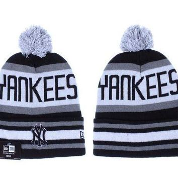 New York Yankees Beanies New Era Mlb Baseball Hat