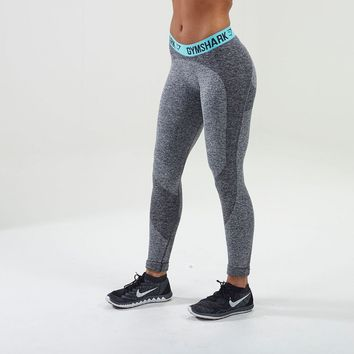 Flex Leggings V2 | Running Tights | Sea Green | Gymshark