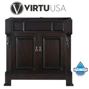 "Huntshire 36"" Cabinet Only in Dark Walnut"