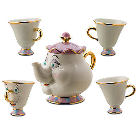 Disney Beauty And The Beast Mrs Potts From Disney Store