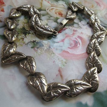 Vintage Mexican Signed Sterling Necklace