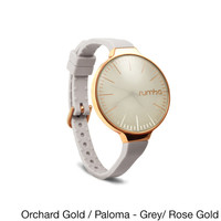 RumbaTime Women's 'Orchard' Goldtone Watch | Overstock.com Shopping - The Best Deals on More Brands Women's Watches