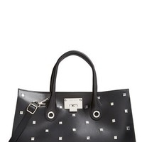 Jimmy Choo 'Riley' Studded Leather Tote | Nordstrom