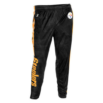Pittsburgh Steelers Official NFL Men's Tapered Zip Up Pants