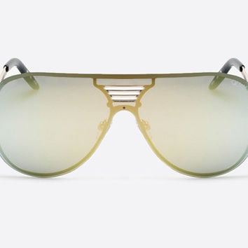Quay Showtime Gold/Gold Sunglasses