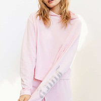 Juicy Couture For UO Gothic Crystal Hooded Velour Top   Urban Outfitters