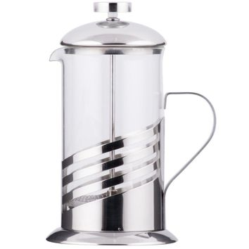 Silver French Coffee Press