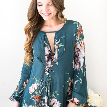 Everything In Bloom Floral Top