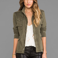ANINE BING Army Jacket in Army