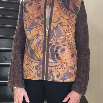 Ronnie Salloway - Paisley Print Jacket