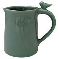 Clay Bird Creamer, Robin's-Egg Blue, Other Lifestyle Accessories
