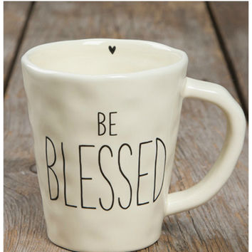 Natural Life Mug- Be Blessed