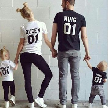 BEKE MATA Family Matching T-Shirts; King, Queen, Prince or Princess