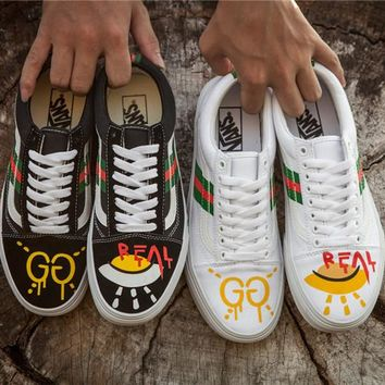Vans x Gucci DIY Old Skool Running Shoes 36-44