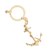 Anchor and rope key chain - odds & ends - Women's accessories - J.Crew