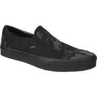 Vans X Star Wars Classic Slip-On Shoe - Men's (Star Wars) Dark Side/Darth Vader,