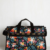 Flower Patch Things Up Weekend Bag | Mod Retro Vintage Bags | ModCloth.com