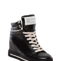 Marc by Marc Jacobs Cute Kicks Sneaker Wedge in Black from REVOLVEclothing.com