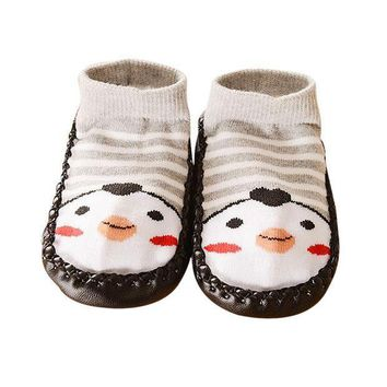 CREYMS9 Cartoon Kids Toddler Baby Anti-slip Sock Shoes Boots Slipper Socks baby shoes shoe  for kids