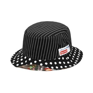Supreme CDG Shirt Reversible Bucket Hat
