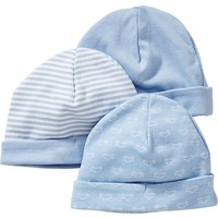 Beanie 3-Packs for Baby