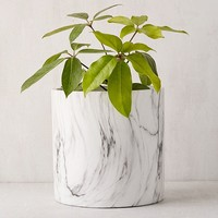 """10"""" Marble Planter 