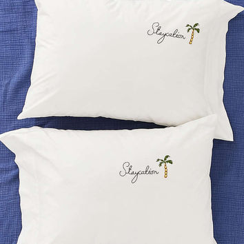 Staycation Pillowcase Set - Urban Outfitters