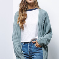LA Hearts Rib Stitch Dolman Sleeve Cardigan at PacSun.com