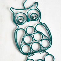 ModCloth Dorm Decor Owl Gussied Up Scarf Hanger