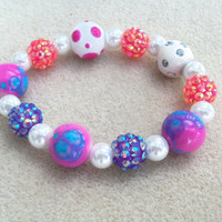 Sequenced Pearls-Little Ladies-Kids Jewelry- Little Girls Bracelet-Girls Jewelry-Children Jewelry-Gifts for Girls-Handmade Bracelet-Treasury