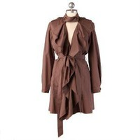 darling detective ruffle trench coat - $59.99 : ShopRuche.com, Vintage Inspired Clothing, Affordable Clothes, Eco friendly Fashion
