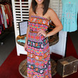 Pretty in Paisley Belted Maxi