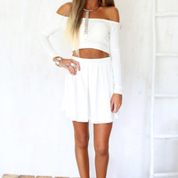 Long Sleeve Tube Top | SABO SKIRT