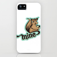 Squirrel iPhone Case by VessDSign | Society6